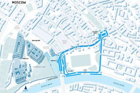 Formel E ePrix Moskau Russland 2015