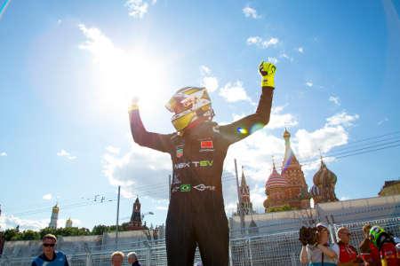 Formel E ePrix Moskau Russland Nelson Piquet jr.