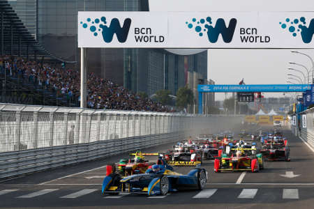 Formel E ePrix Peking China 2014