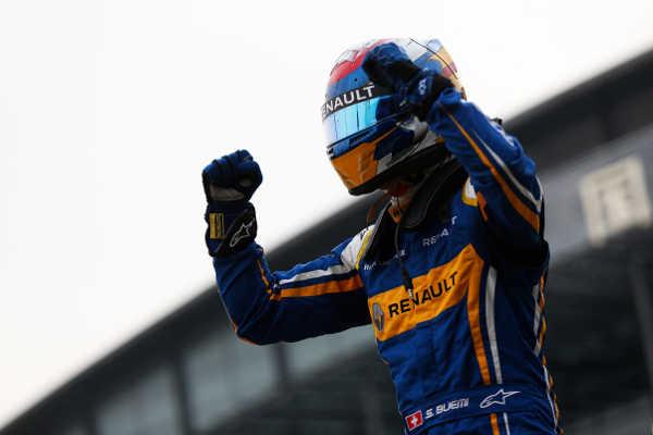 Formel E ePrix Peking Sebastien Buemi e.dams Renault