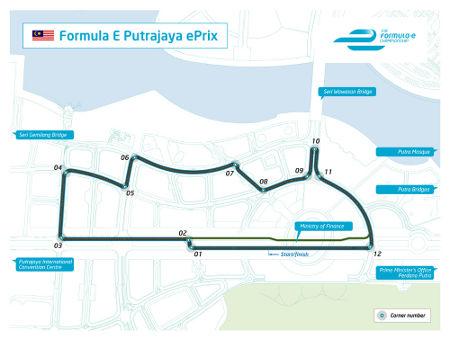 Formel E Putrajaya Malaysia