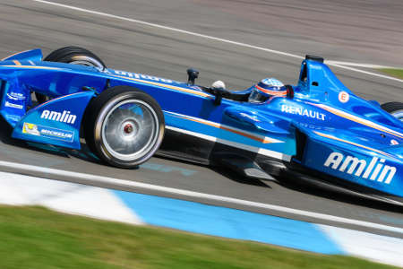 Takumo Sato Amlin Aguri Formel E