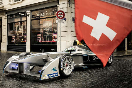Formel E Schweiz Simona de Silvestro