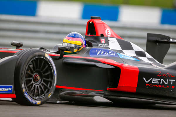 Formel E Jacques Villeneuve Venturi