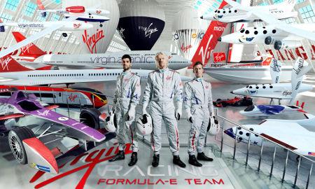 Virgin Racing Formula E Team Fahrer 2014/2015