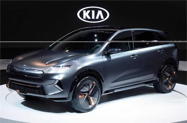 Kia Niro EV Concept CES 2018
