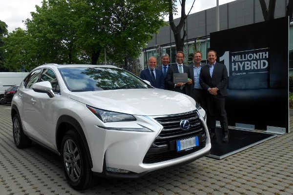 1 Million Lexus Hybride