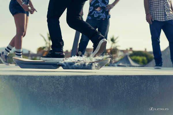 Lexus Hoverboard 2015