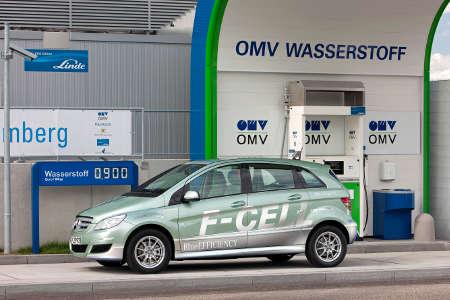 Mercedes B-Klasse F-Cell Wasserstoff