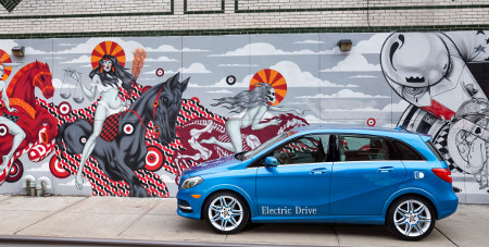 Mercedes B-Klasse Electric Drive New York 2013