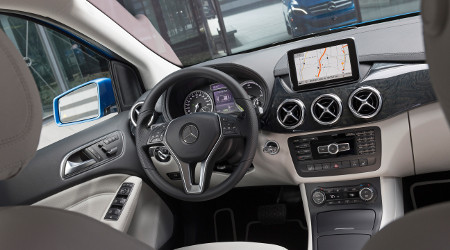 Mercedes B-Klasse Electric Drive New York 2013