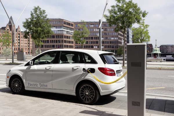 Mercedes B-Klasse Electric Drive 2014