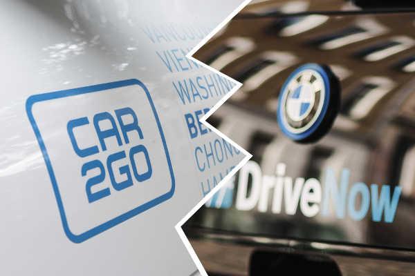 Carsharing car2go & DriveNow Fusion