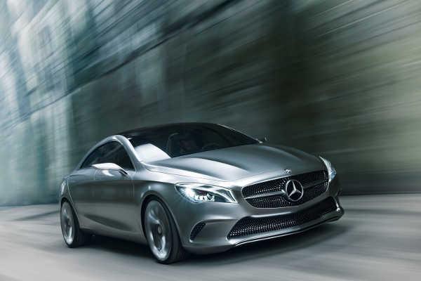 Mercedes Concept Style Coupé 2012