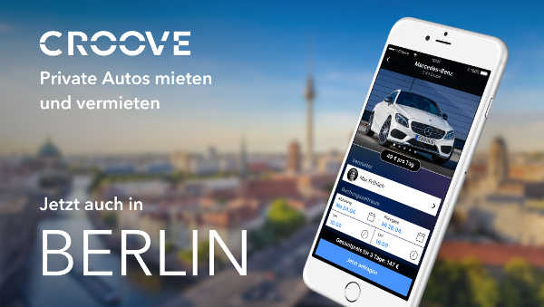 Mercedes Croove Berlin Carsharing