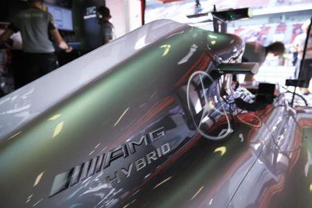Mercedes F1 W05 Hybrid Formel 1 Rennwagen 2014