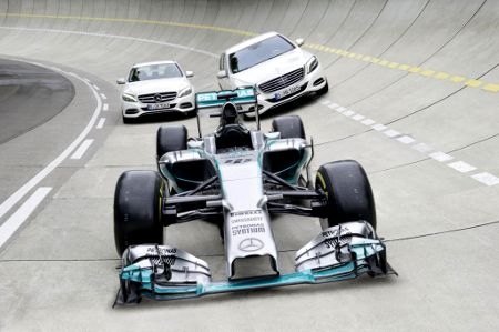Mercedes Synergien Formel 1 & Serie