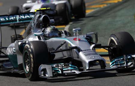 Mercedes W05 Formel 1 2014 Nico Rosberg