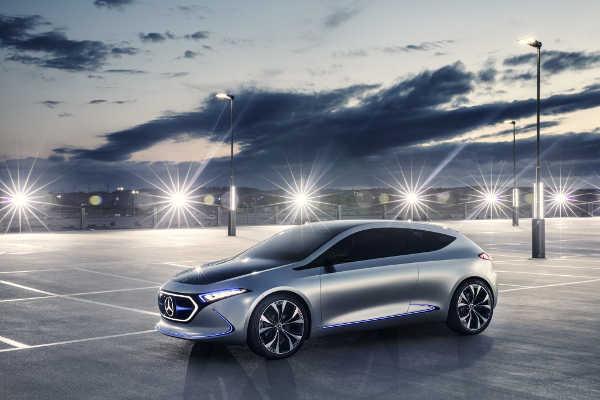 Mercedes Concept EQA IAA 2017