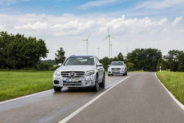 Mercedes GLC F-Cell Entwicklung