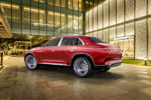Mercedes-Maybach Ultimate Luxury 2018