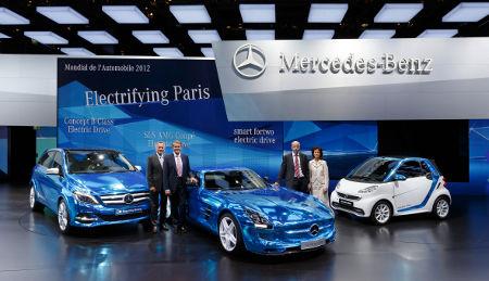 Mercedes Pariser Autosalon 2012