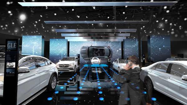 Daimler Pariser Autosalon 2016
