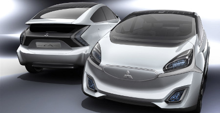Mitsubishi CA-MiEV Genf 2013