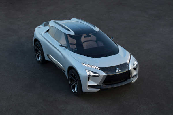 Mitsubishi e-Evolution Concept Tokyo Motor Show 2017