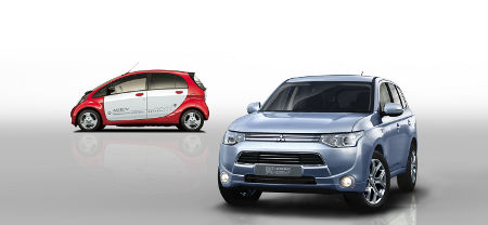 Mitsubishi Outlander PHEV & Mitsubishi i-MiEV