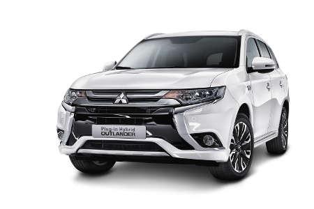Mitsubishi Outlander Plug-in-Hybrid Facelift 2015