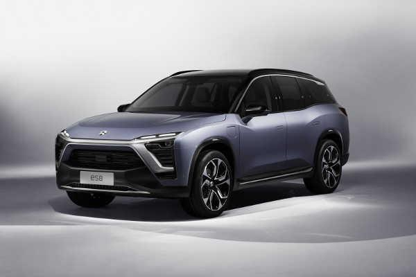 NIO ES8 Auto Shanghai 2017