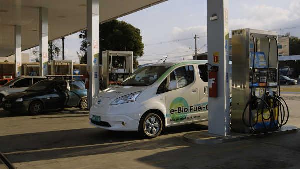 Nissan e-Bio Fuel Cell Prototyp