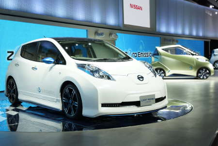 Nissan Leaf Nismo Concept 2011