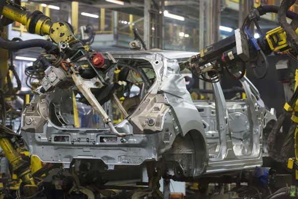 Nissan Leaf II Produktion Sunderland