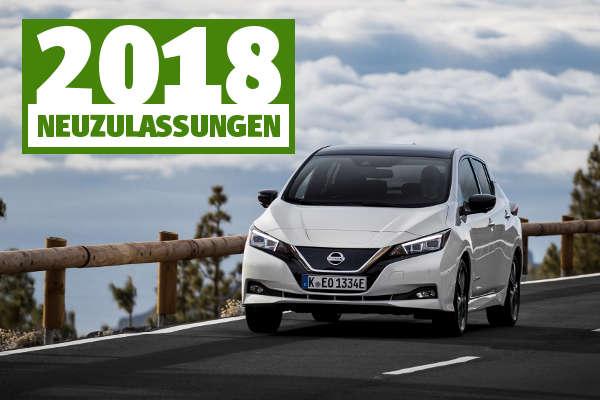 Elektroauto-Neuzulassungen 2018 Nissan Leaf