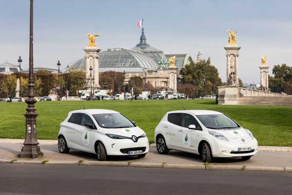 Renault Zoe & Nissan Leaf