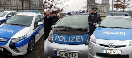 Berliner Polizei setzt auf Elektroautos