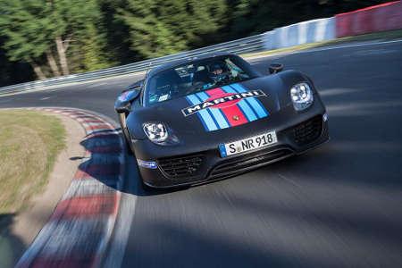 Porsche 918 Spyder Rundenrekord Nordschleife 2013