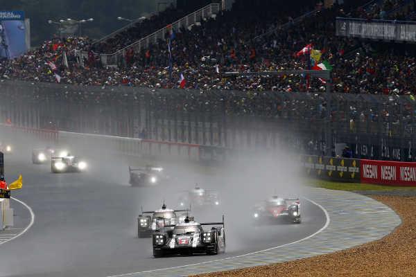WEC 24 Stunden von Le Mans 2016 Prosche #2 Lieb Jani Dumas
