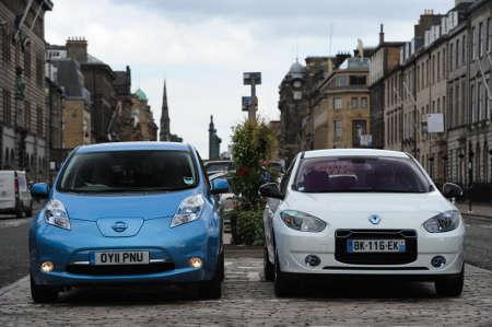 Nissan Leaf & Renault Fluence Z.E.