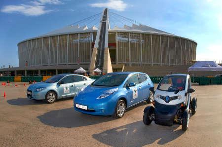 Renault Fluence Z.E., Nissan Leaf & Renault Twizy