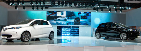 Renault Zoe Genfer Autosalon 2012