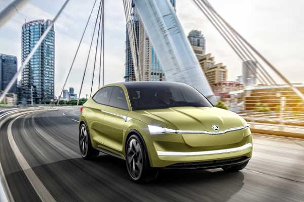 Skoda Vision E Auto Shanghai 2017