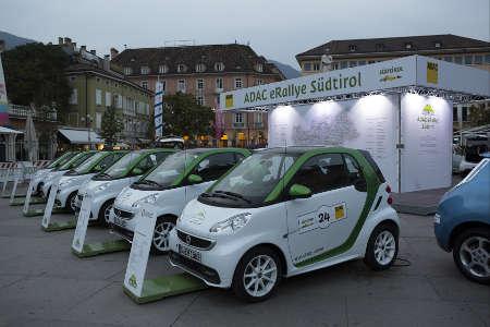 smart ed III bei der ADAC eRallye 2012