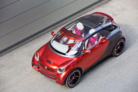 smart forstars Pariser Autosalon 2012