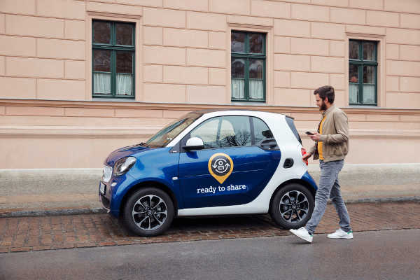 smart ready to share privates Carsharing