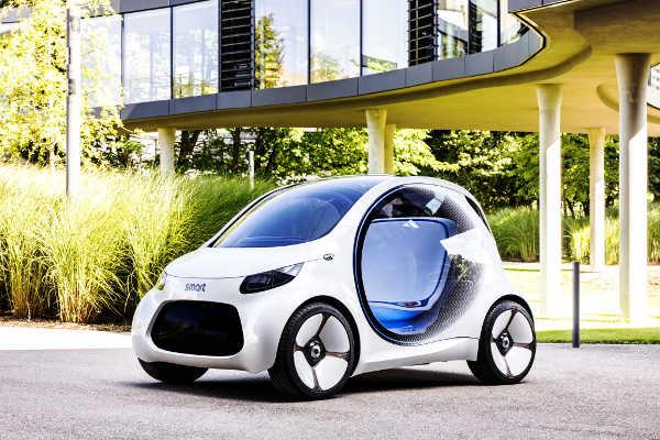 smart vision EQ fortwo IAA 2017