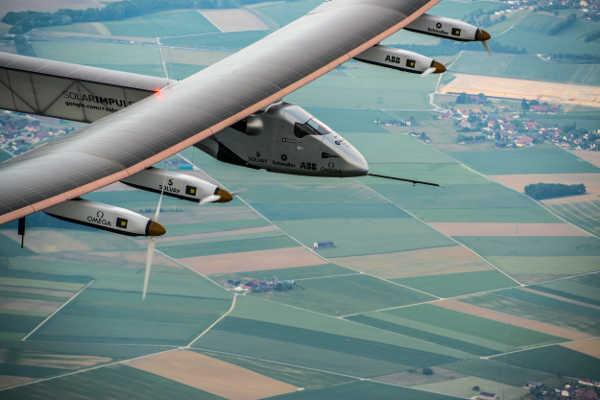 Solar Impulse 2 Testflug 2014