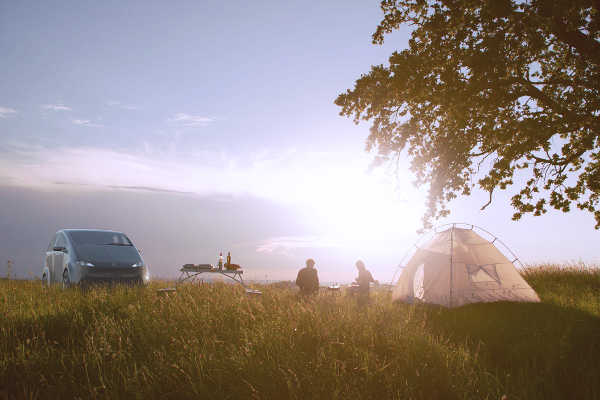 Sono Sion bidirektionales Laden Camping